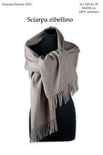 Zibellino cashmere scarf