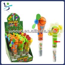 Hand press ball fan (basketball & soccer)