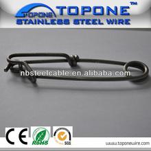 pequeño profesional fabricante de dibujo de alambre de las ss de la bobina sf020 clip