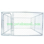 Hot Sale Galvanized Chain Link Large Dog kennel