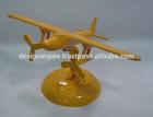 Cast Aluminum Decorative Fighter Plane Models under water running