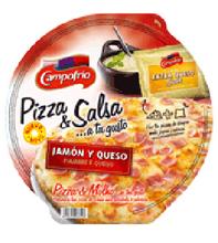 Pizza Campofrio Ham And Cheese