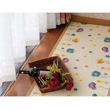 eco friendly pvc foam printed anti-slip roll mat anti-slip picnic rug