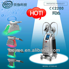 BECO vibrating body massager device vacuum cryolipolysis venus fat freeze slimming beauty machine ETG50-4S new products 2014!