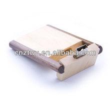 New design wedding gift swivel wooden pen usb flash drive