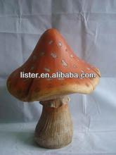 Wholesale Garden Mushroom Supplies, Resin Mushroom Arts for Garden Decoration