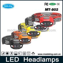 High Brightness CREE Headlamp With Multifunction Emergency Flashlight(MT-802)