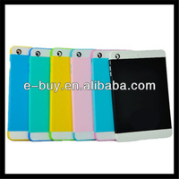 2014 cute design combo pc+silicone case cover for ipad 2 3 4