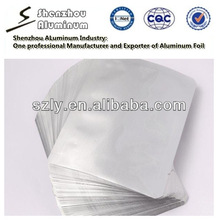For aluminum foil cooking bags