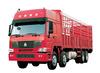 HOWO truck cnhtc 8x4 cargo truck van cargo truck