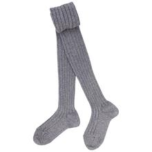 Bulk Wholesale Thick Stripes Organic Cotton 100% Plain Grey Thin Leg Leggings