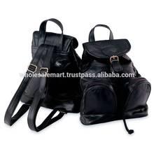 Lambskin Leather Backpack/Purse
