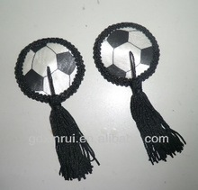 sexy nipple cover for passionate football cheerleaders and fans