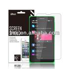 Cell Phone/Mobile phone screen protector for Nokia X oem/odm (Anti-Fingerprint)