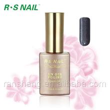 L004-hot selling product metallic color soak off uv/led gel nail polish for nail art made in China