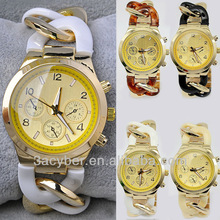 Vogue Alloy+Plastic Woven Lady/Women/Girl Wrist Watch