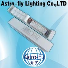 ETL DLC CE ROHS approved aluminium alloy+PC 5000K 1800lm 80Ra Isolated driver 1200mm 18w led tube emergency