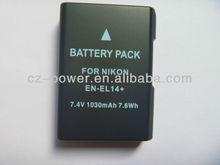 EN-EL14 high quality digital camera Battery for Nikon D3100, d5100, etc DSLR Camera