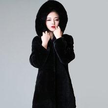 FY016 Big fur hood coat wholesale good quality with OEM