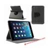 For iPad Mini 2 Rotating Cover ! Fabric Texture 360 Rotation Degree Stand Folio Leather Cover for iPad Mini 2 Tablet