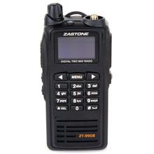 New launch Black Walkie Talkie Zastone ZT-9908 DPMR Digital Standard UHF 430-470MHz Handheld Two Way Radio
