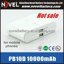 Portable External Battery Power Bank Charger for iPhone/iPad/Cellphones
