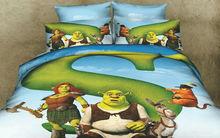 3D kids design bedding set
