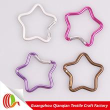 New design fashion strong stylish star shaped carabiner