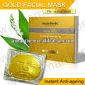 nouveaux produits soins de la peau 2014 gold collagène masques pour le visage naturel