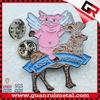 Fashion hot sell metal soft enamel lapel pins