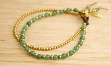 Traditional Thai Bracelet Handmade Boho Jade