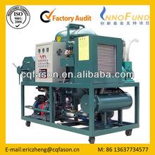 CE certified Fason ZTS Low temperature distillation waste motor oil purification machine