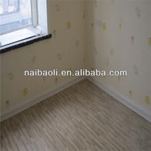 wood look rubber flooring/basketball flooring