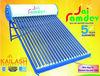 GI solar water heater in india