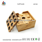 Golf Brain Teaser Wooden Puzzle Toys & Games