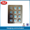 3x4 matrix digital access control illuminated security keypad
