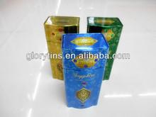 Tea Tin box, gift tin can,Custom Shaped tin