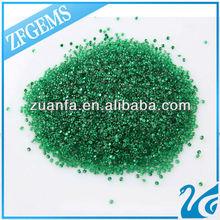 2mm nano crystal emerald synthetic semi precious stone price of 1 carat diamond