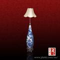 jingdezhen decorativos de cerámica del oem tapa de la lámpara