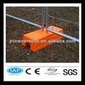 Bau provisorischen zaun