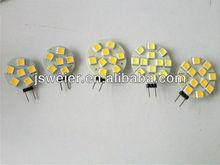 G4 12 SMD 5050SMD LED Lights 12V Bulbs dimmable 12V AC