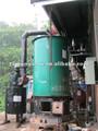Le charbon industriel tiré réchauffeur d'huile thermique pour la vente