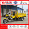 hot selling petrol cargo tricycle with driver cabin