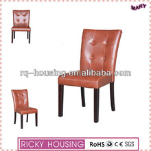 Orange leather recliner chairs/fancy leather office chair/leather salon chair RQ20982