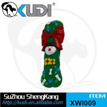 Merry Christmas gift dog chew playing bone XWI009