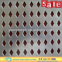 price bulk diamond shaped opening perforated metal sheet