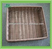 pp rattan tray basket