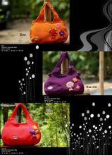 Nylon crochet fashionable bags