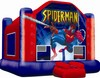 2014 inflatable kids spiderman jumper China