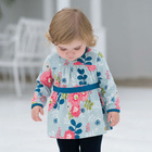 DB737 dave bella 2014 spring cotton princess toddler dress baby clothes infant dress baby girl floral baby clothes